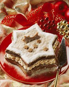 Weihnachtstorte mit Mokkacreme |Zeit: 45 Min. | http://eatsmarter.de/rezepte/weihnachtstorte-mit-mokkacreme