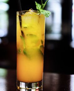 Spicy Mango Mojito ----the one at Cheddars was SPECTACULAR!