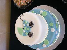 Baby shower cake for a boy @Kelly Teske Goldsworthy Teske Goldsworthy McDaniel This is cute.