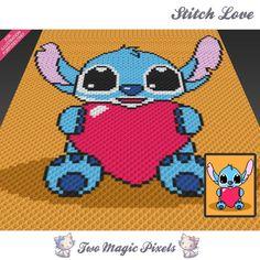 Stitch Love (sc tss c2c cross stitch) | Craftsy