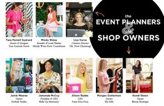The Everygirl Yearbook // The Event Planners & Shop Owners // @Tara Guerard @Mindy Weiss @Lisa Vorce // @Furbish Studio @Bellē Up Maternity @Faire Frou Frou // Alison Rubke @Edith Hart @Kendi Everyday
