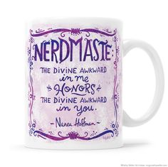 Nerdmaste Mug - A collaboration with Sweatpants & Coffee ! – Kathy Weller Art + Ideas