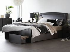Floyd Queen Bed Frame (with 2 drawers).       Useful storage drawers      Contemporary design