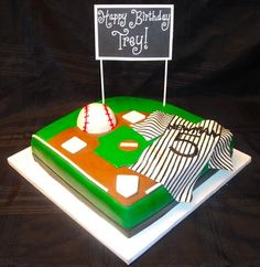 baseball cake - This is SO cute!!!