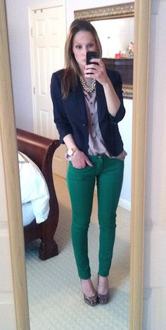Perfect website for semi-formal work outfit ideas.