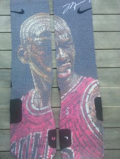 Michael Jordan Domination custom nike elite socks M, L, XL  picclick.com