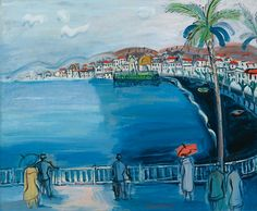 View NICE, LA BAIE DES ANGES By Raoul Dufy; Oil on canvas; Access more artwork lots and estimated & realized auction prices on MutualArt. Raoul Dufy, Art Fauvisme, Art Moderne, Henri Matisse, Art Day, Kandinsky, Pastels, Oil On Canvas, Modern Art