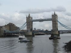 10 Most Famous Monuments In Europe: London Tower Bridge