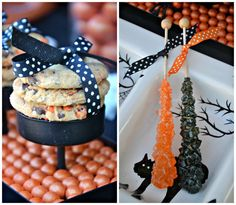 Treats at a Halloween Party #Halloween #party
