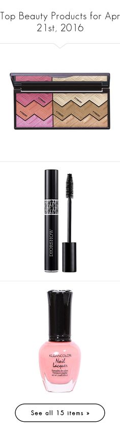 """""""Top Beauty Products for Apr 21st, 2016"""" by polyvore ❤ liked on Polyvore featuring beauty products, makeup, cheek makeup, cheek bronzer, by terry, eye makeup, mascara, beauty, cosmetics and fillers"""