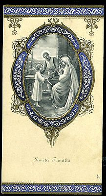 Old Holy Card of Sancta Family | eBay