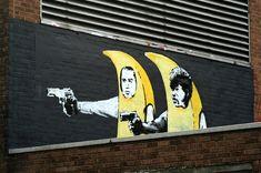 Banksy Graffiti Drawings