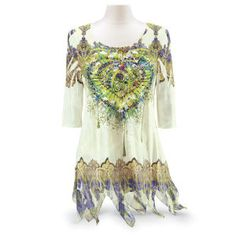 Heart's Desire Tunic - Best Selling Gifts, Clothing, Accessories, Jewelry and Home Décor