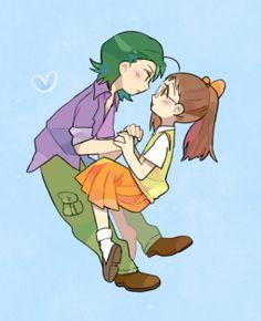 Hazuki x Masaru おジャ魔女どれみ 小魔女DoReMi Ojamajo Doremi #Ojamajo Doremi #cosplay #anime