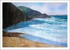 Afbeeldingsresultaat voor acuarelas del mar