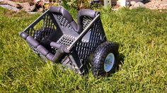 Forums / How To's (D.I.Y.) / DIY Milk Crate Kayak Cart - Kayak Crazy | Kayak Forum, News, Reviews, Locations, and more!