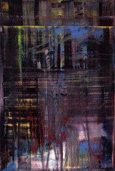 Gerhard Richter I have the exact painting process as him.