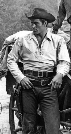 Clint Walker, this is when I think that looks are more important than talent.