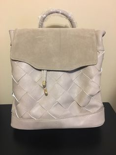 Stitch Fix #49 - Moda Luxe - Tura Suede Detail Backpack - February 2018