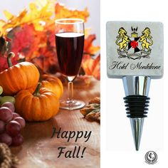 This marble wine bottle stopper features the logo of The Hotel Monteleone. We help you make your business stand out by creating custom gifts that your guests will love and USE! Wine Searcher, Wine Carrier, Customized Gifts, Custom Gifts, Wine Guide, Wine Bottle Stoppers, Happy Fall, Happy Monday, Wine Charms