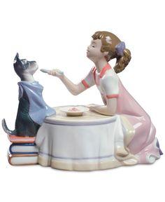 Lladro Porcelain Tea Time Figurine