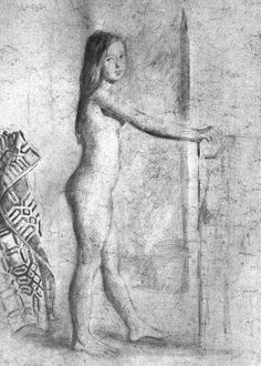 Nude Art Gallery: The Nude Art of Balthus Pierre Bonnard, Figure Painting, Painting & Drawing, European Paintings, Modern Artists, Old Art, Gravure, Famous Artists, Erotic Art