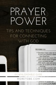 Prayer Power: Tips and Techniques for Connecting with God  . . . a practical, downloadable guide to get you thinking creatively about your prayer life. Plus, it's a great tool for sharing with tweens, teens, and twenty-somethings.