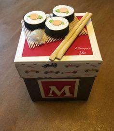 Explosion box sushi  Le Decorazioni di Glee
