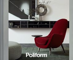 Upholstered fabric armchair with armrests MAD KING Mad Collection By Poliform design Marcel Wanders Modern Wardrobe, Wardrobe Design, Marcel, Coq Hotel, King Chair, London Design Festival, Fabric Armchairs, Contemporary Kitchen Design, Italian Furniture