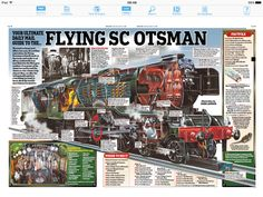 After a ten-year, renovation, the Flying Scotsman is finally back on the tracks and ready to set off on a nationwide tour. Above is the Mail's indispensable guide to everything you need to know about the world's most famous locomotive Flying Scotsman, Hobbies For Men, Simple Machines, Steam Locomotive, Journalism, British, Cutaway, Zine, Daily Mail