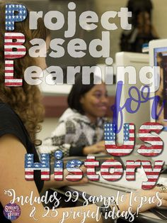 Bring Project Based Learning to your social studies class with this packet! Everything you need for PBL in US History in middle or high school.