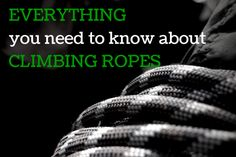 With the warm months' arrival and boulder temps long gone, climbers everywhere start their summer migration into rope climbing. A lot of questions have been popping up about climbing ropes as of late,...