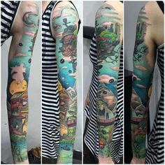 miyazaki tattoos