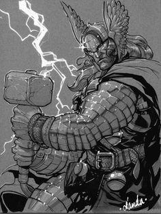 Great Collection of Thor Artworks | Abduzeedo Design Inspiration