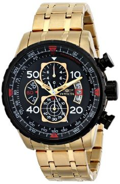"Invicta Men's 17206 ""AVIATOR"" Stainless Steel Casual Watch Invicta http://www.amazon.com/dp/B00J082Q7I/ref=cm_sw_r_pi_dp_S4-Xtb04BZRDZHVR"
