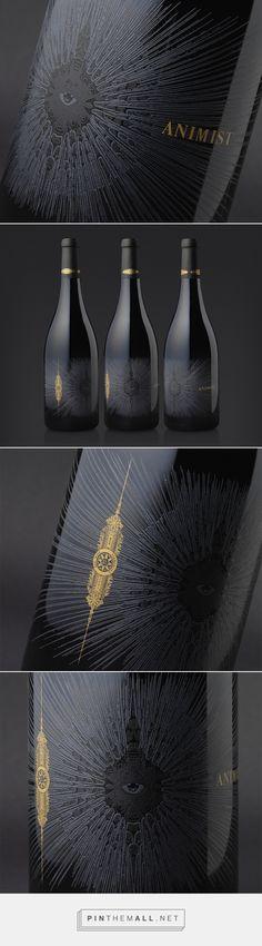 Animist Wine packaging by Cult Partners #taninotanino