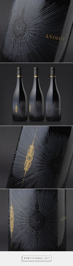 Animist Wine packaging by Cult Partners #taninotanino