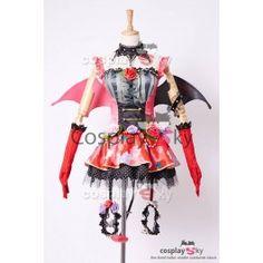 Love Live! New UR Maki Nishikino Little Demon Transformed Uniform Halloween  Cosplay Costume Cool Halloween 4bc1d4898fa0