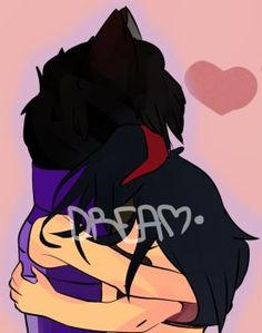 Aphmau and Aaron by Dreamsaymow