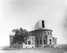 Goodsell Observatory, Carleton College, where Frank Wolf had his office (photo, 1891)