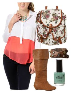 """""""Casual Weekend Look"""" by rue21 ❤ liked on Polyvore"""