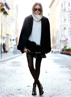 Turtle-Neck-Street-Style-Tricot-Boots