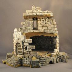 GW Ruined tower terrain piece
