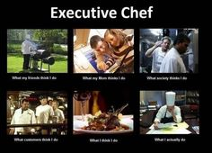 Here's the 'What People Think I Do' Meme, For Chefs