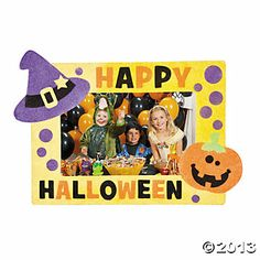 Halloween Sand Art Photo Frames - $8.75, makes a dozen