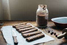 hazelnut cocoa granola bars (Molly Yeh)