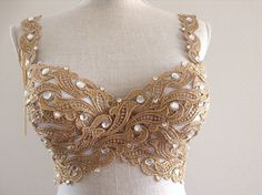 RESERVED for Nicole -Gold Goddess in Your Size by Crystalsandlaces on Etsy