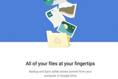 Google releases Backup and Sync for Mac and Windows    Google's Backup and Sync desktop app is now available for download for Mac and Windows after a delay last month. Users now have the power to sync up anything, including photos and videos from camera   https://www.theverge.com/2017/7/12/15961478/google-releases-backup-and-sync-for-mac-and-windows