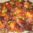 Garlic-Parmesan Chicken Wings Like Wing Stop!!
