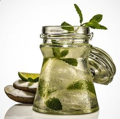 Healthy Spicy Coconut Water Juice